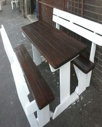 garded benches outdoor benches