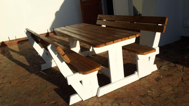 Benches Picnic Benches Walkin Benches Outdoor Benches Garden - Walk in picnic table