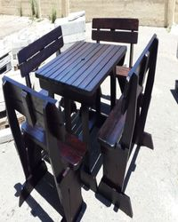 capetown outdoor benches & patio benches