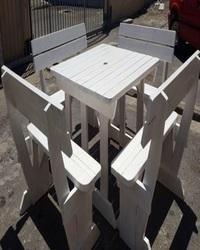 Master White benches