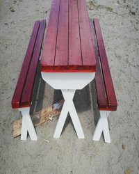 Crossed-Legged-Benches-Benches-Table