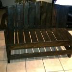 Arm Garden bench