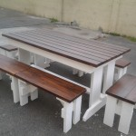 Premier Set of benches and tables