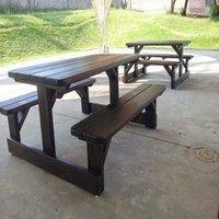 Picnic garden benches