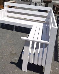 L Shaped Garden Benches, Patio Bench, Outdoor Bench