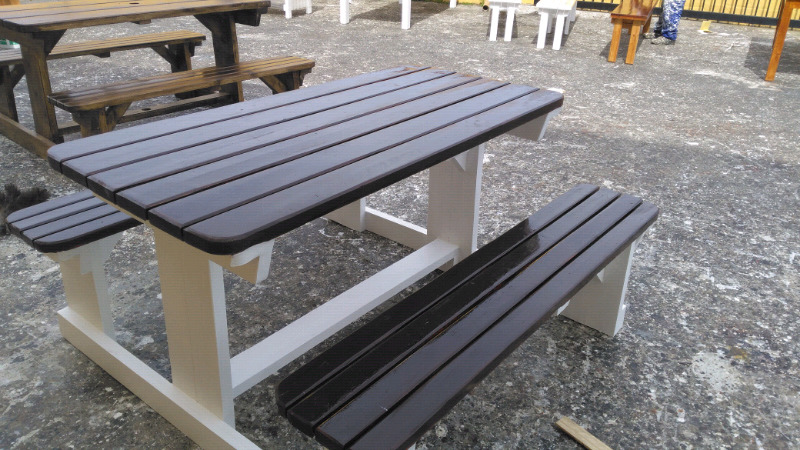 Enjoyable Outdoor Benches Garden Patio Furniture By V M Benches Gmtry Best Dining Table And Chair Ideas Images Gmtryco